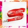 Staff piros nyakpánt