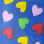 Szív (színes-kék)