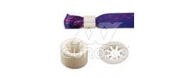 Műanyag gyűrű (fehér) - +3.00 Ft (+3.60 Ft Áfával)