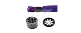Műanyag gyűrű (fekete) - +3.00 Ft (+3.60 Ft Áfával)