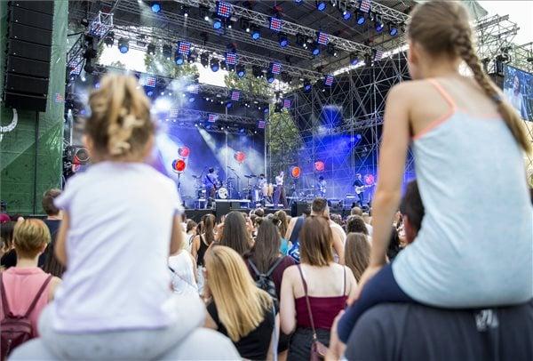 Szegedi Ifjúsági Napok koncert, MTI fotó