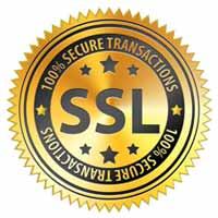 100% SSL Secure Transactions